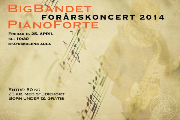 BBposterForårskoncert14