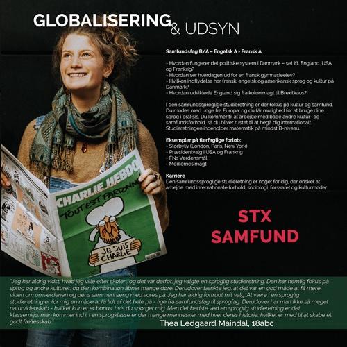 Oversigtsbillede over STX samfundsfaglinje globalisering og udsyn