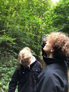 18z på guidet tur i skoven