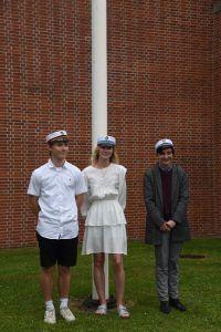 Årets tre første studenter