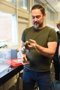 Forsøg med stofskifte hos slanger