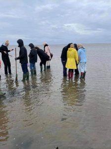 Elever ved Vadehavet