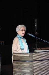 Elisabeth Hertzum Præsenterer jubilæumsbog